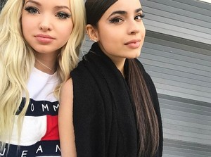 colombe and Sofia carson