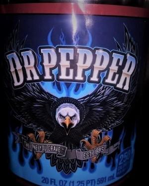 Dr Pepper Eagle Label