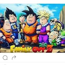 Dragon Ball X Family Guy