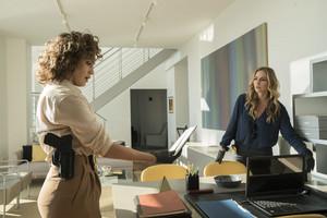"""Drea de Matteo as Tess Nazario in Shades of Blue: """"Fracture"""""""