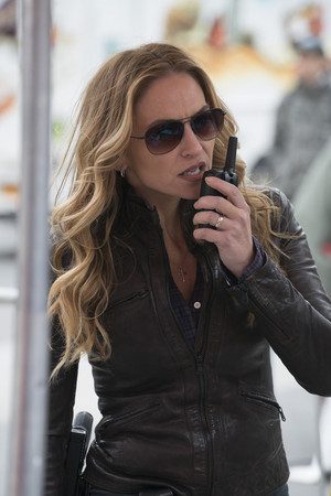 "Drea de Matteo as Tess Nazario in Shades of Blue: ""The Quality of Mercy"""