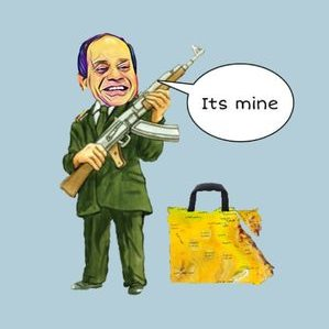 ELSISI SAY EGYPT ITS MINE
