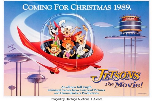 Hanna Barbera 壁纸 titled Early Jetsons The Movie Poster