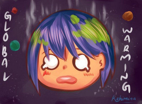 Keep Earth Green wallpaper titled Earth-Chan