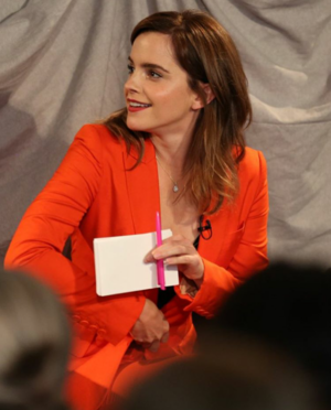 Emma Watson at the 'From Violence to a Place of Power' event in London [July 20, 2018]