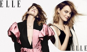 Emma in Elle September 2018