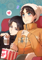 Eren x Levi // Attack on Titan <333