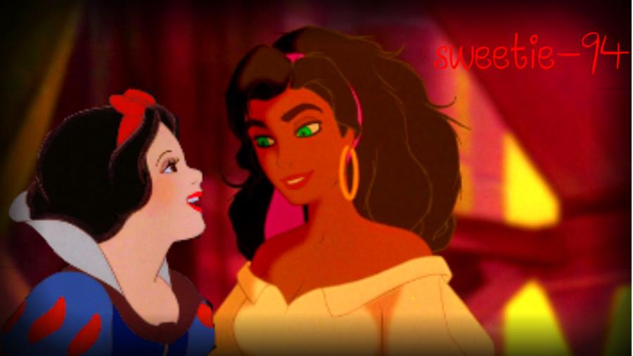 Esmeralda and Snow White