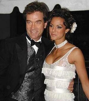 Eva & John at the 2003 Daytime Emmys