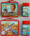 Evel Knievel Lunchbox And Thermos