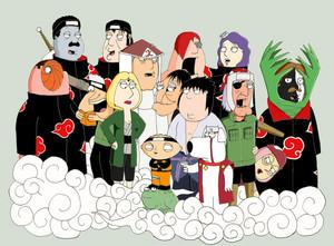 Family Guy নারুত Style
