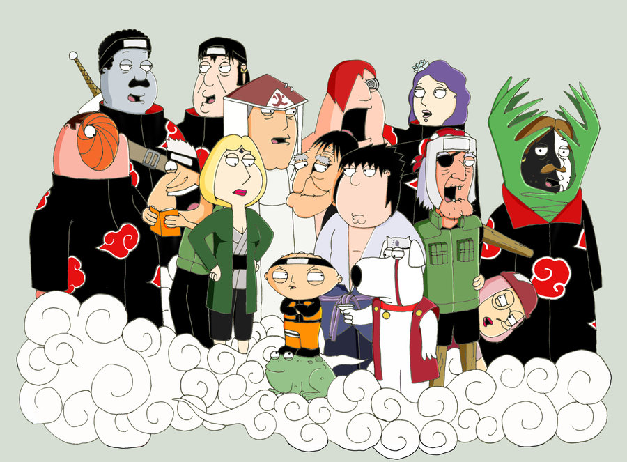 Family Guy Наруто Style