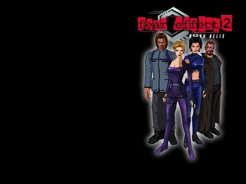 Video Games achtergrond entitled Fear Effect Games