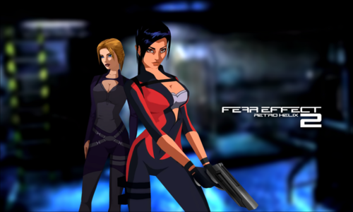Permainan Video kertas dinding titled Fear Effect Games