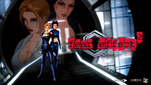 电子游戏 壁纸 called Fear Effect Games