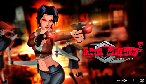 Video Games achtergrond titled Fear Effect Games