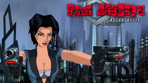 Video Games achtergrond called Fear Effect Games
