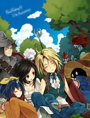 Final fantasía IX Team