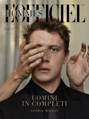 George MacKay - L'Officiel Hommes Italia Cover - 2017