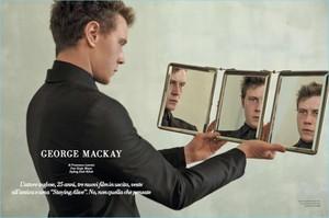 George MacKay - L'Officiel Hommes Italia Photoshoot - 2017