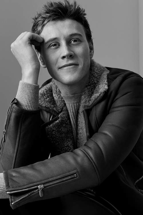 George MacKay - Mr. Porter Photoshoot - 2017