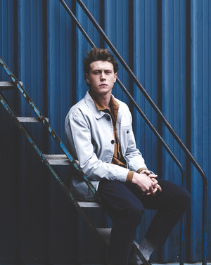 George MacKay - Schon Magazine Photoshoot - 2015