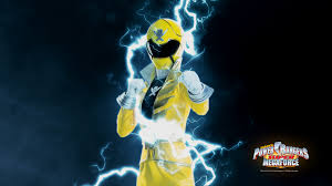 Gia Morphed As The Yellow Megaforce Ranger