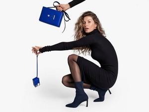 Gisele Bündchen for Stuart Weitzman Campaign [Fall Winter 2018]