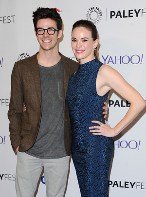 Grant and Danielle - PaleyFest LA 2015 Purple Carpet