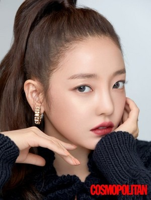 Hara for Cosmopolitan Korea Magazine September Issue