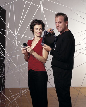 Jack Bauer and Nina Myers