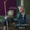 Jack talking to his unborn child in elsa's belly - elsa-and-jack-frost photo