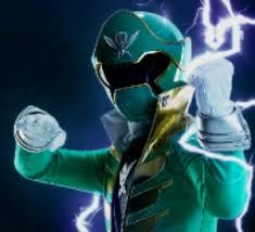 Jake Morphed As The Green Super Megaforce Ranger