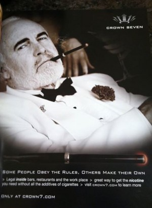 James Bond Impersonator for promotional ad