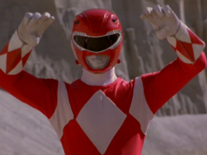 Jason Morphed As The Original Red Mighty Morphin Power Ranger