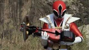 Jayden Morphed As The Red Samurai Ranger