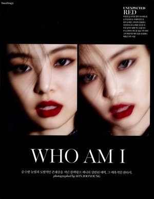 Jennie Featured in MARIE CLAIRE Magazine October 2018 Issue