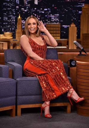 Jennifer Lopez at Tonight mostra Starring Jimmy Fallon