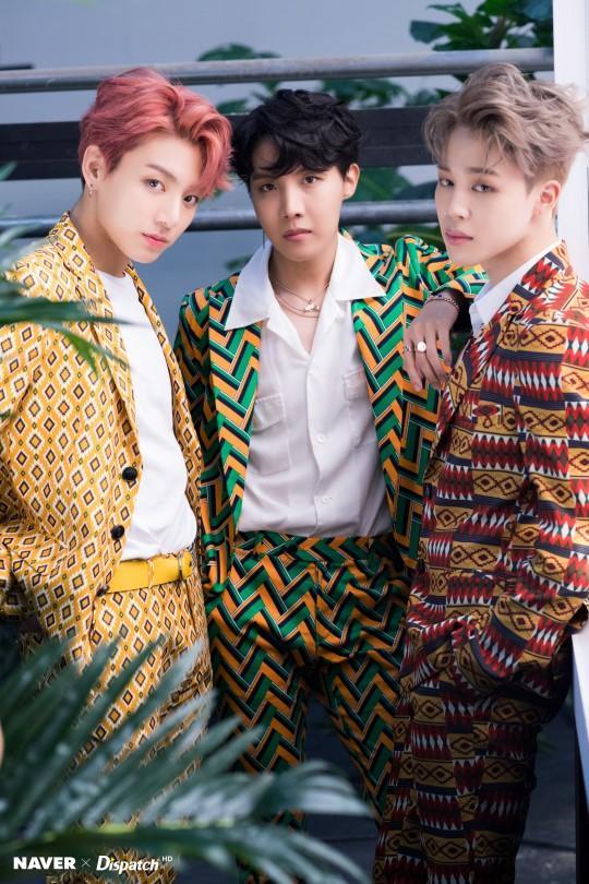 Jhope,Jimin and Jungkook
