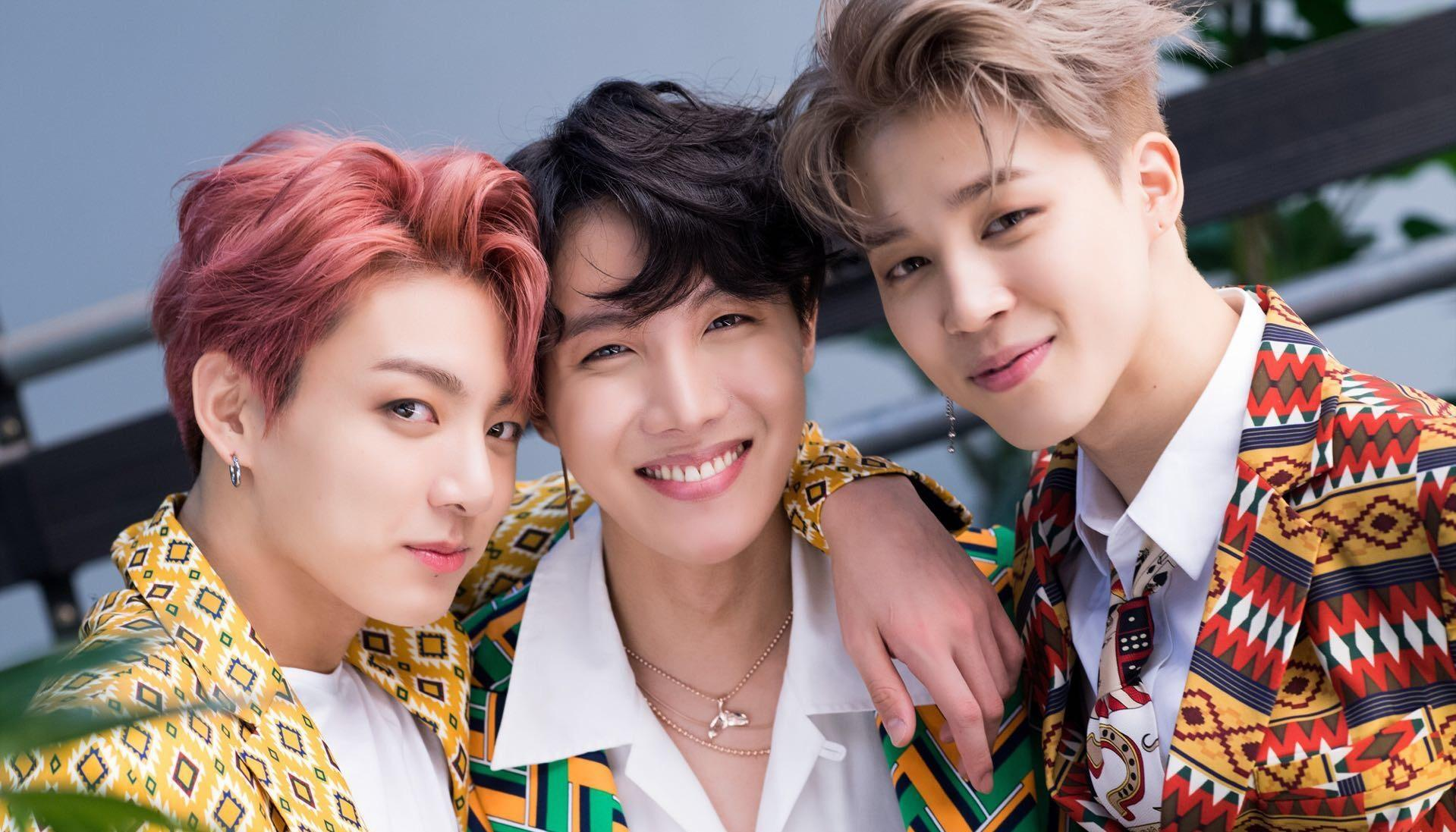 Jhope,Jimin and Jungkook