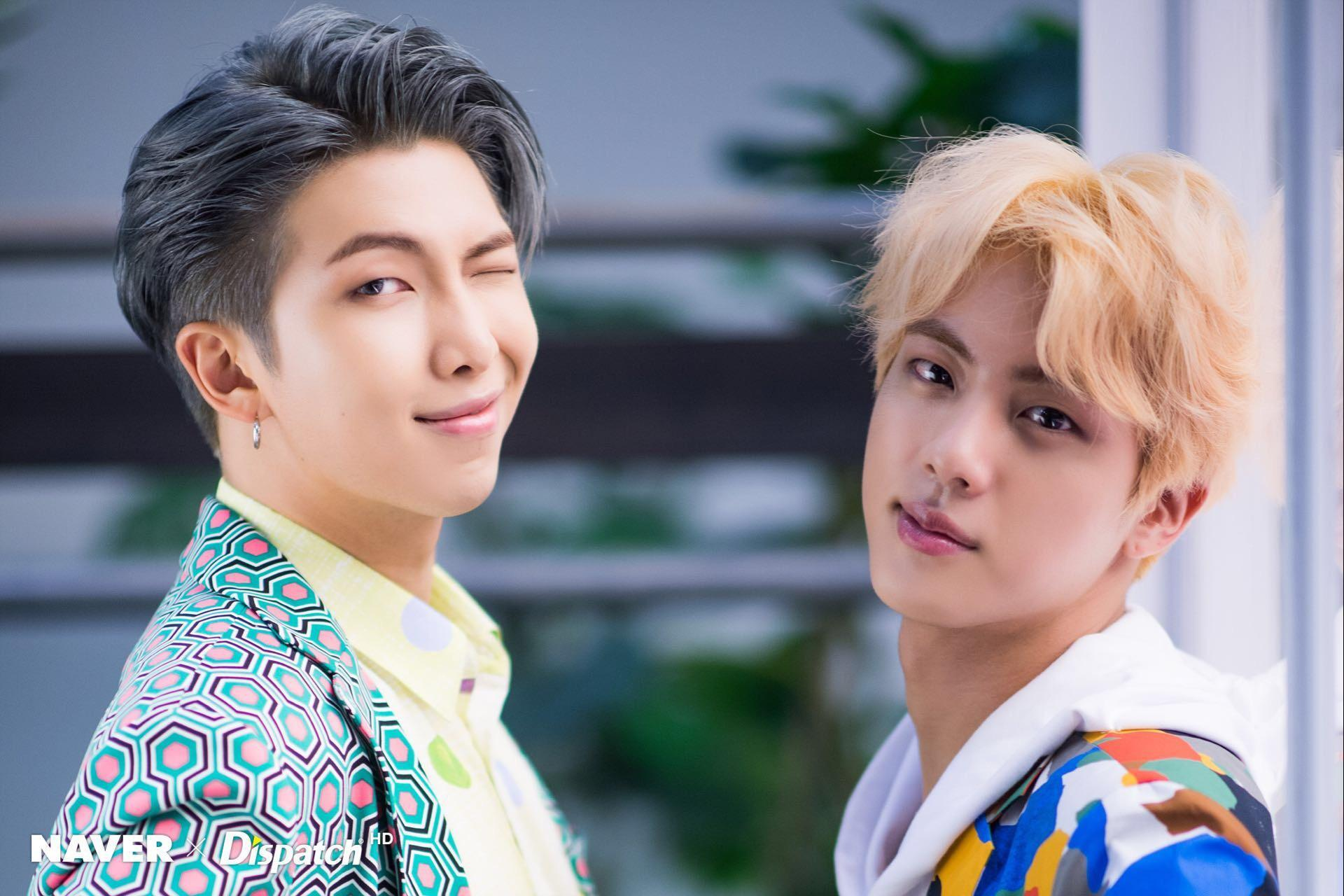 Jin and RM