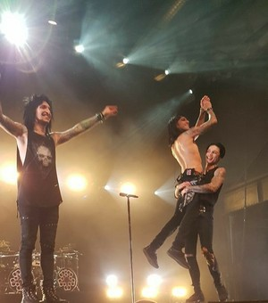 Jinxx, CC and Andy