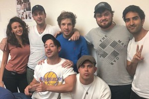 Joe Gilgun and Brassic Cast Picture