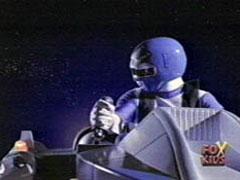 Kai Morphed As The Blue Galaxy Ranger