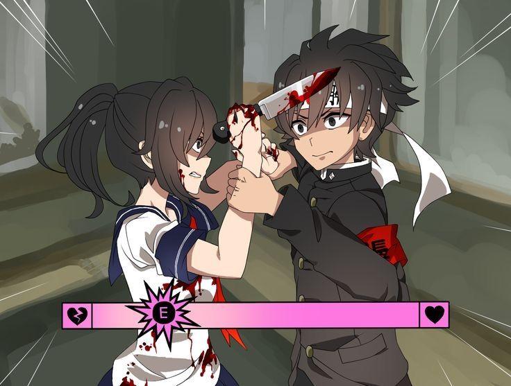 Kill him - yandere simulator fan club Photo (41596336) - Fanpop