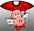 Kirby and Ribbon  - kirby fan art