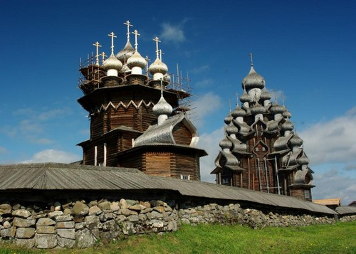 Europe Hintergrund entitled Kizhi Island, Russia