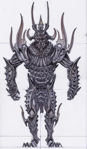 Oblivion (Elder Scrolls IV) fond d'écran called Knights of the Nine Concept Art