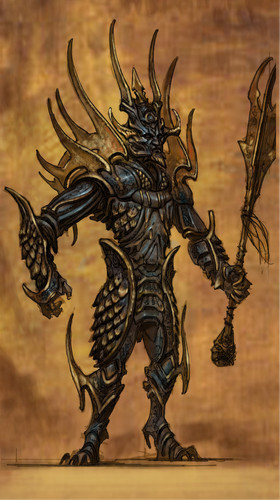 Oblivion (Elder Scrolls IV) Обои entitled Knights of the Nine Concept Art