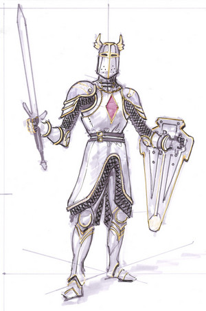 Knights of the Nine Concept Art